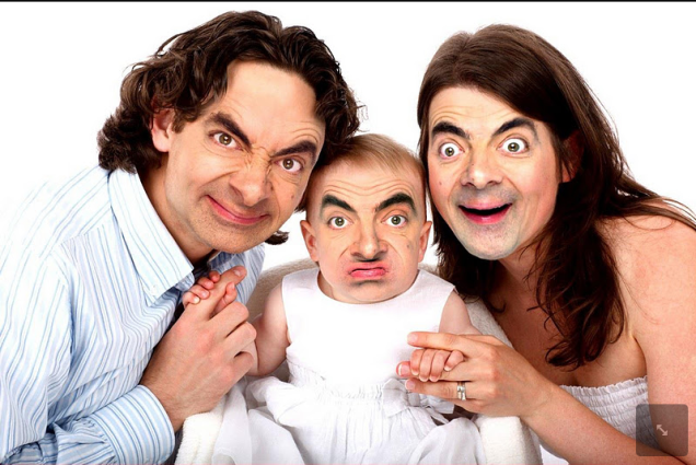 Mr Bean Family